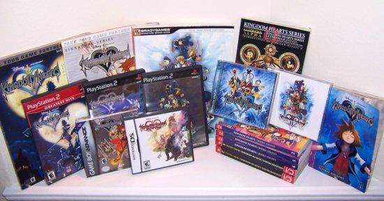 Les différents Kingdom Hearts
