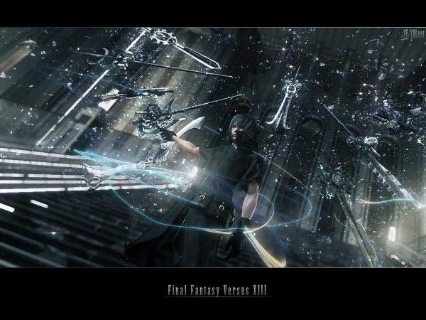Final Fantasy versus XIII........................................................ ou comment entrer en dépression pour KH3