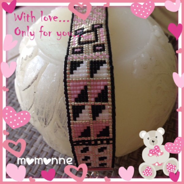 bracelet assorti a la spirale