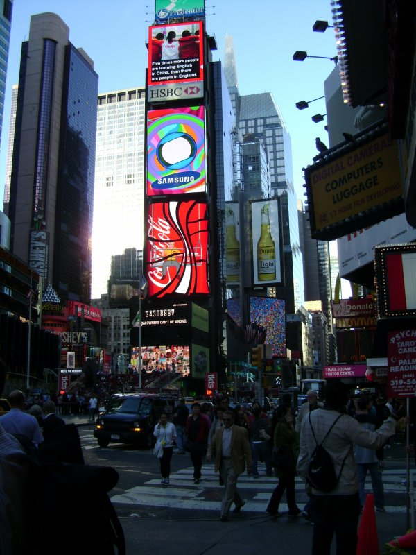 Times square. 2