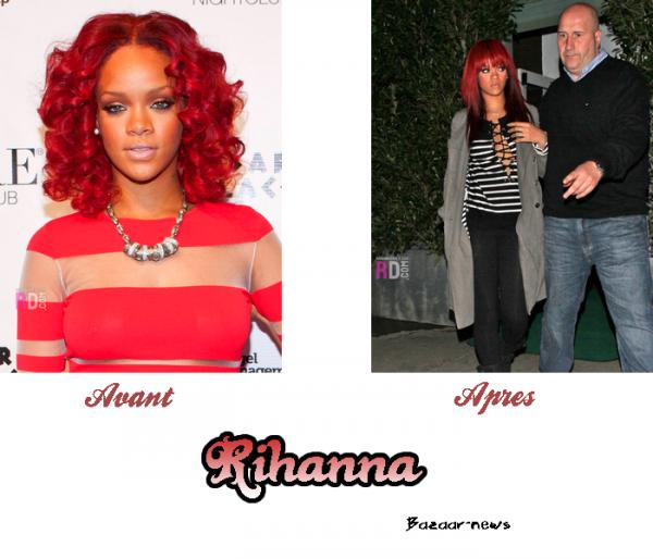 Nouvelle Coupe Rihanna: (Encore) Une Nouvelle Coupe Pour Rihanna !Une Frange + Des