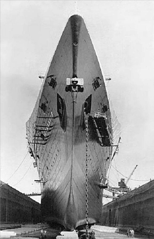 Saint Nazaire - Forme Joubert - 1935 - Drydock Joubert