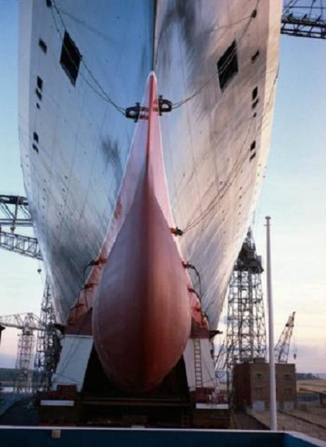 Le plus fameux Cunarder : QE2