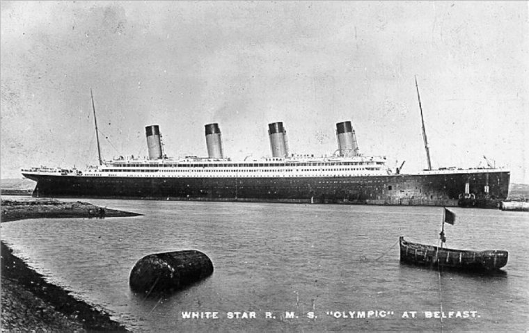 The liners OLYMPIC class