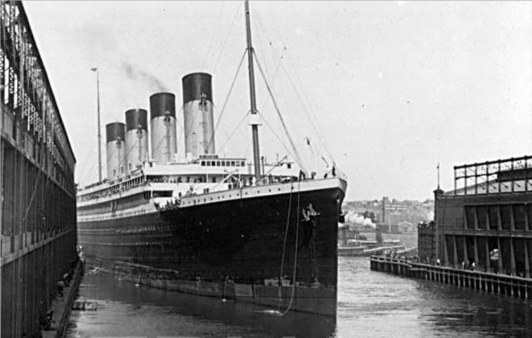 Maiden voyage of the Olympic - 21 juin 1911 (8)