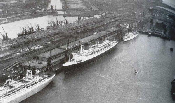 Le havre vue du port ann es 60 blog de atlantique nord for Porte vue 60 pages