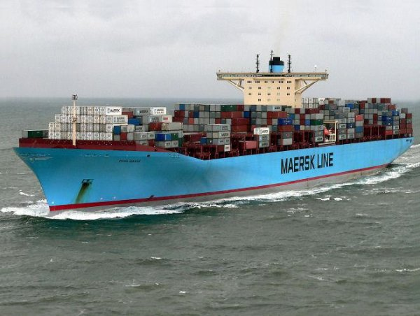 Container ship EMMA MAERSK