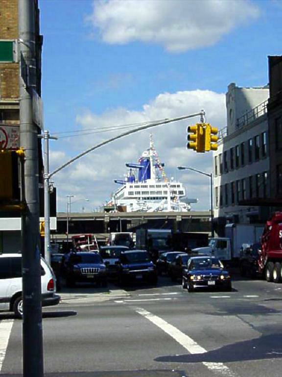 ss NORWAY memories   sept 2001  05th Farewell crossing   New-York ( 7 )