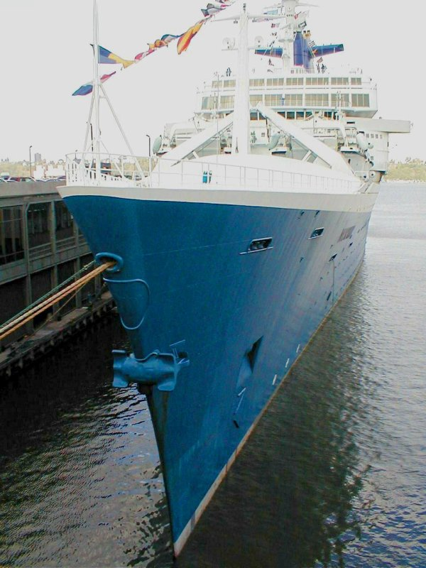 ss NORWAY Memories sept 2001 05th  Farewell Crossing  New-York ( 4 e )