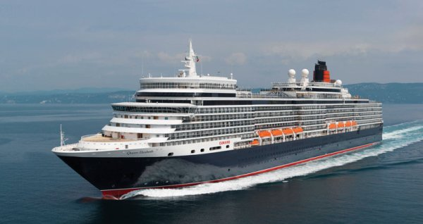 The new Cunard's QUEEN ELIZABETH