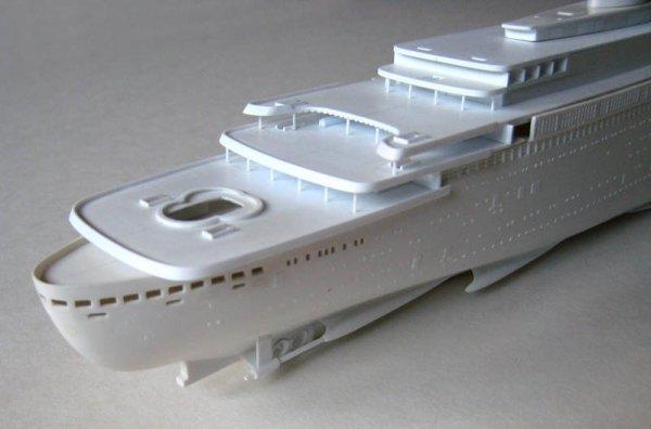 Superbes maquettes de paquebots - Very nice models of passenger ships