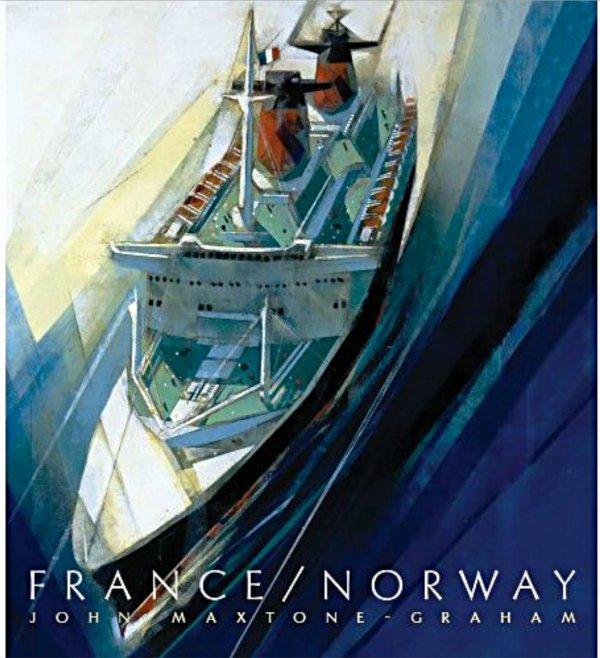 NOUVEAU LIVRE SUR LE PAQUEBOT FRANCE / NORWAY