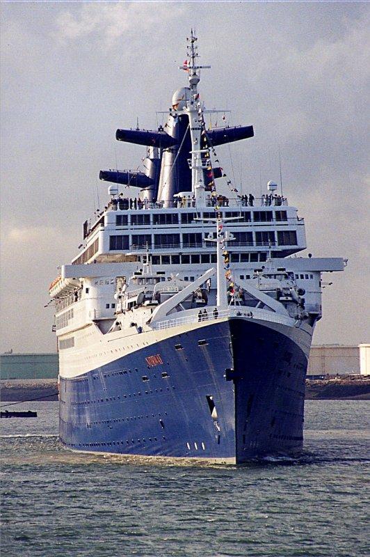 NORWAY arrive au petit matin au Havre