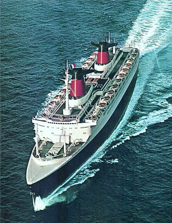FRANCE at sea