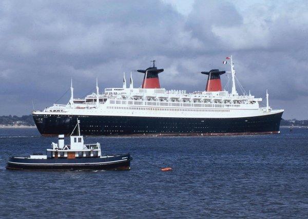 SS FRANCE à Southampton (2)