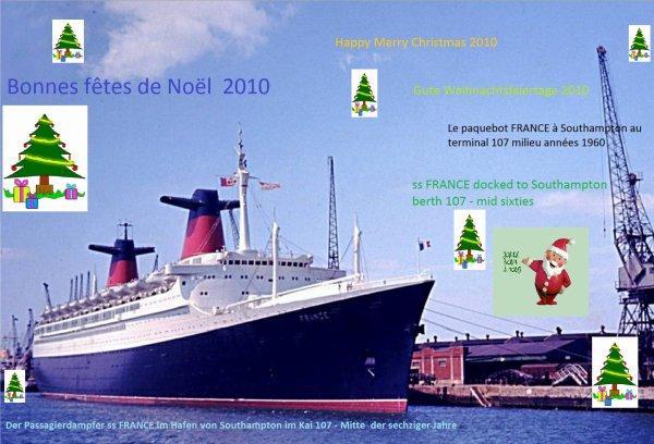 BONNES FETES DE NOEL - HAPPY MERRY CHRISTMAS