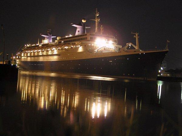 SS NORWAY à Bremerhaven 2003 2005
