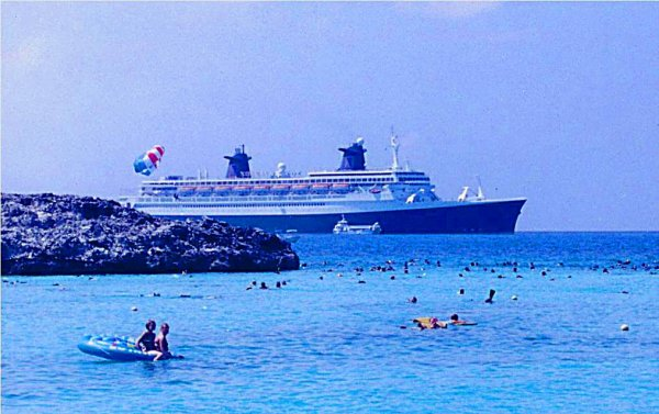 SS NORWAY Great Stirrup Cay - Journée plage & soleil