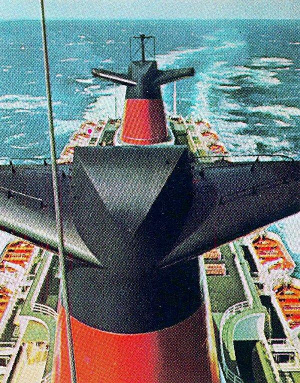 Le nez du paquebot FRANCE NORWAY
