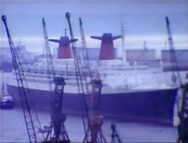 Dernières images du paquebot FRANCE  et premières images du NORWAY