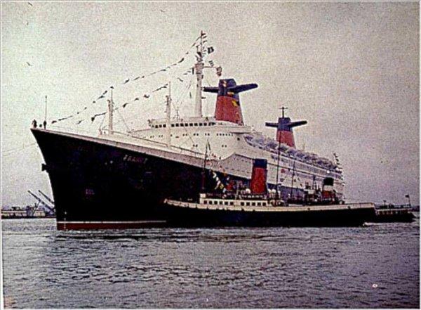 paquebot FRANCEà Southampton