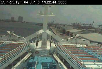 SS NORWAY bridge cam Miami 2003 may & june