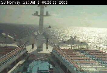 SS Norway  crossing of the Atlantic 2003 june 27th to july 24th - La traversée de l'Atlantique 26 juin au 24 juillet