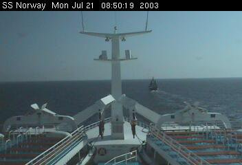 SS Norway crossing of the Atlantic 2003 june 27th to july 24th - La traversée de l'Atlantique 26 juin au 24 juillet ( 3 )