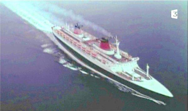 En mer à bord du SS FRANCE