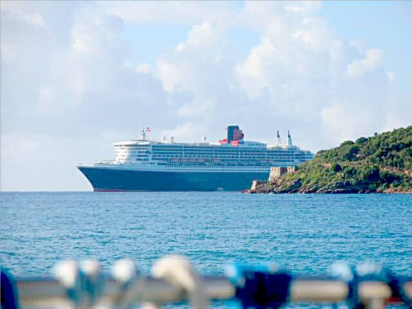 SS NORWAY - RMS QUEEN MARY 2 - USVI Saint Thomas