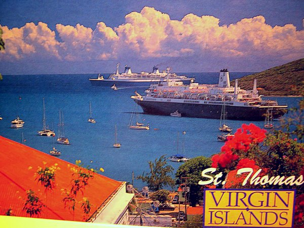 SS NORWAY  Saint Thomas US Virgin Islands