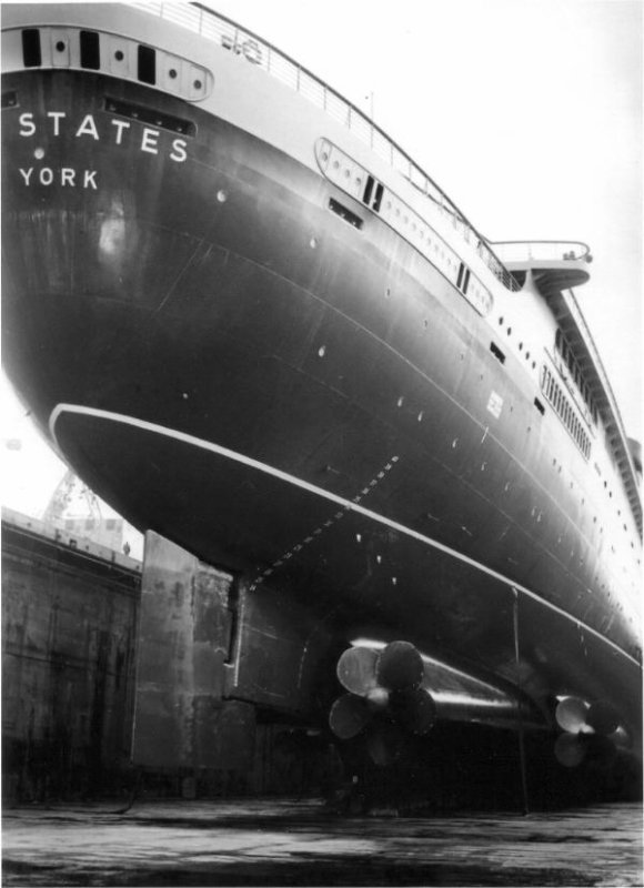 SS UNITED STATES the hull