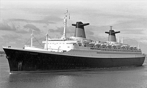 SS FRANCE Southampton début années soixante-dix