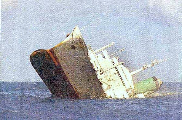 Ainsi meurent les navires...