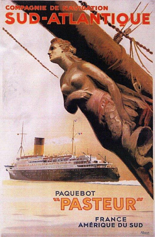 SS PASTEUR - TS BREMEN - REGINA MAGNA - SAUDI PHIL I - FILIPINAS SAUDIA I   ( 1 )