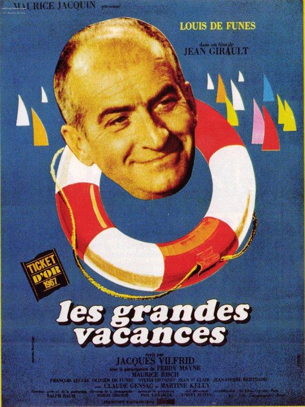 """"""" SS FRANCE """" dans le film """"Les Grandes Vacances"""""""