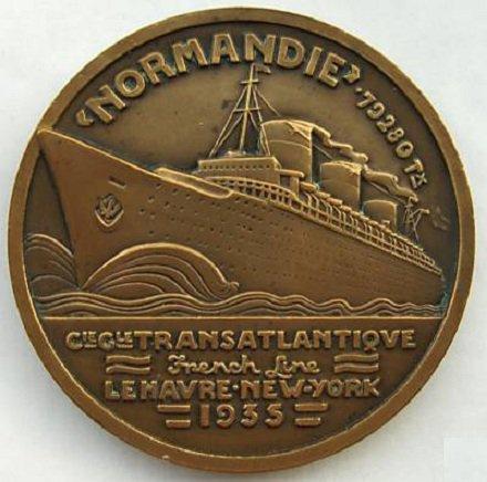 SS NORMANDIE - La naissance d'une légende