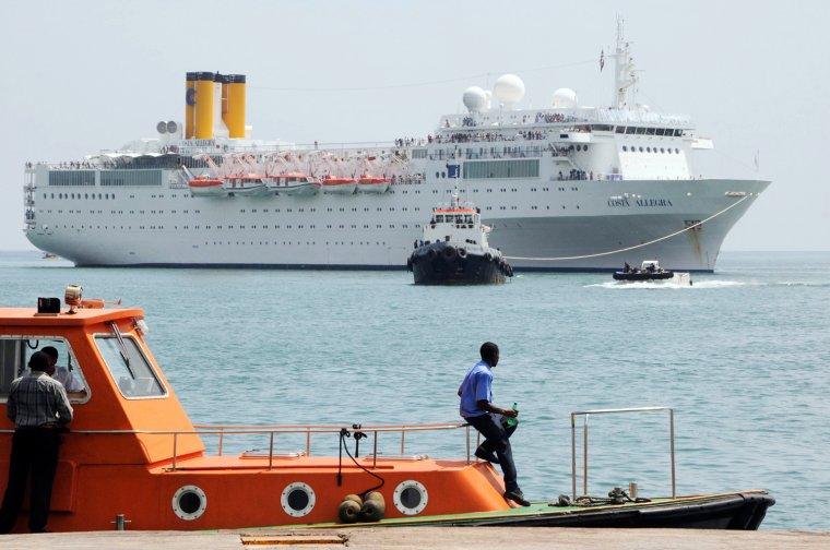 COSTA ALLEGRA  dans l'océan Indien 01 mars 2012