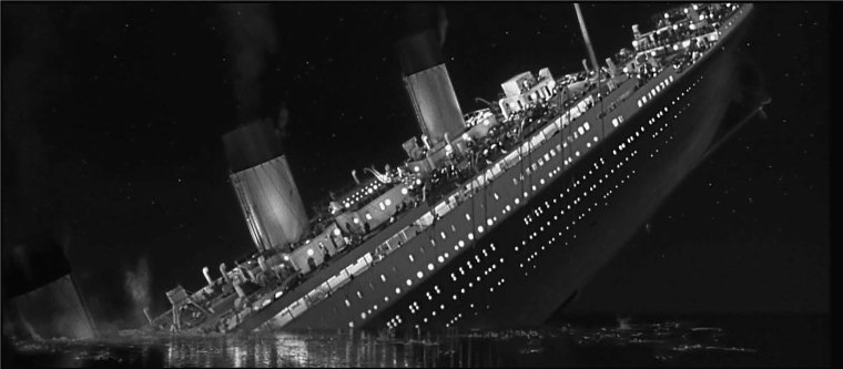RMS TITANIC vers le naufrage