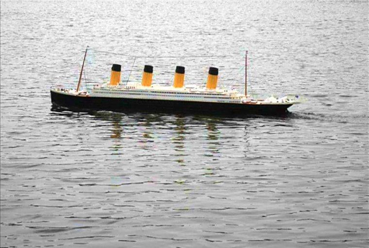 RMS TITANIC maquette 1/100° de Anthony Bourceret