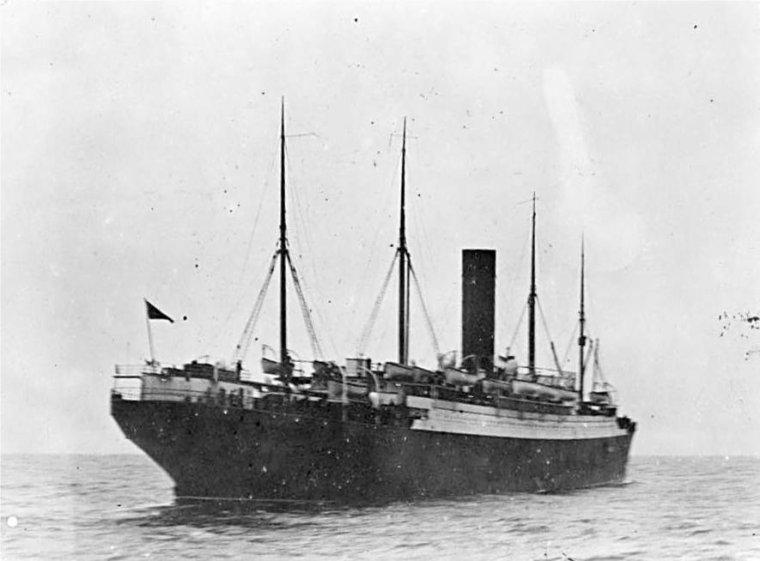 RMS TITANIC après le naufrage