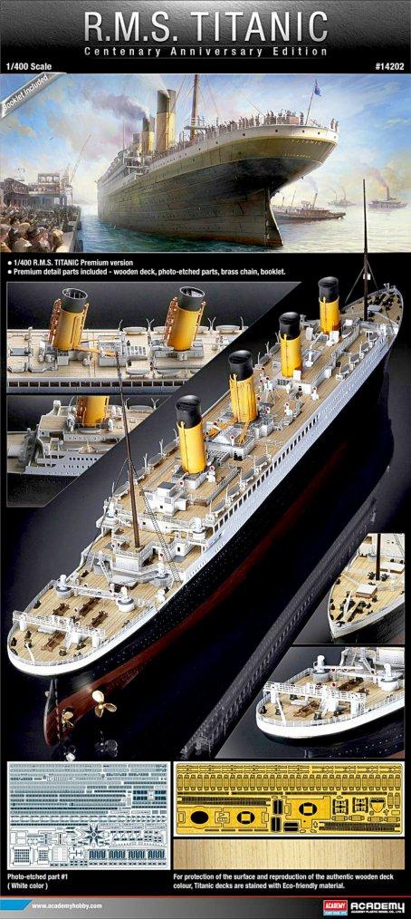 Des maquettes du paquebot RMS TITANIC