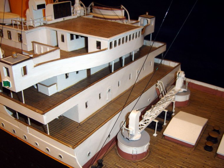 RMS TITANIC maquette au 1/100°