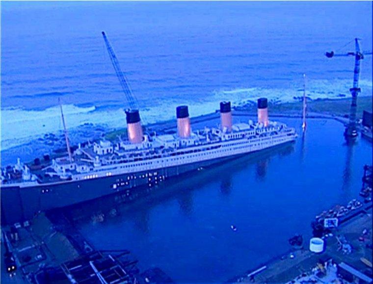 TITANIC - le film de Cameron - la construction