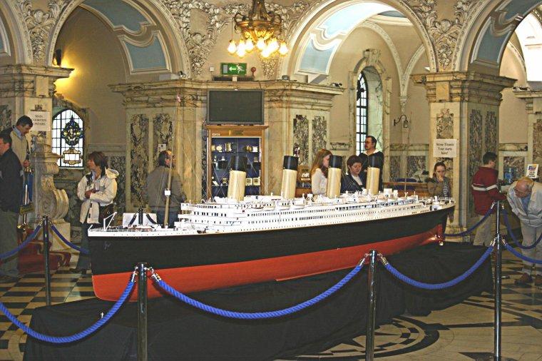 Superbes maquettes du RMS TITANIC