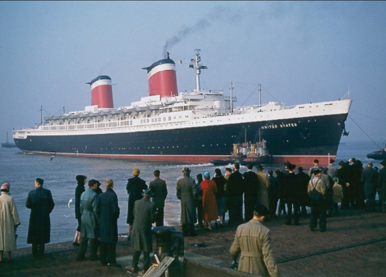 Bon anniversaire SS UNITED STATES Happy Birthday