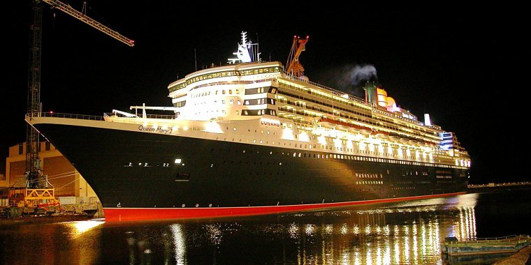 QUEEN MARY 2  : supership