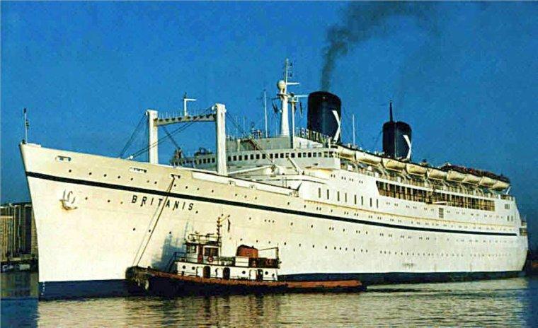 Britanis Cruise Liner Chandris Lines