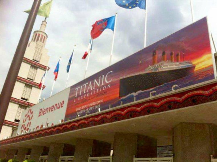 RMS TITANIC 2013  - Exposition à PARIS - Exhibition in Paris