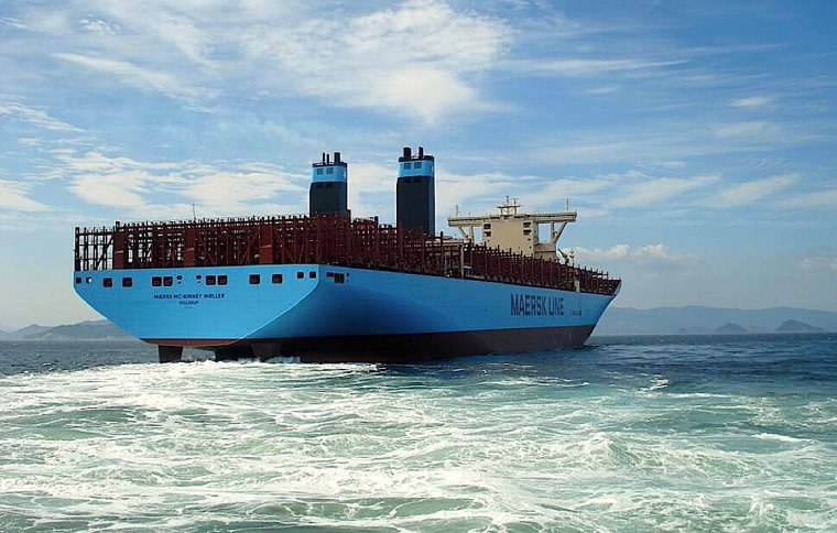 GEANT DES MERS : MAERSK MC-KINNEY MOLLER  &  CMA CGM JULES VERNE